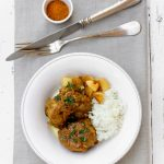 Curry d'agneau à l'indienne, façon La Coupole