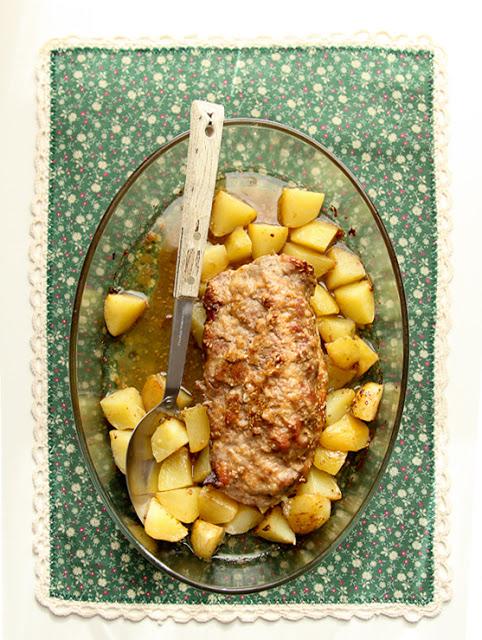 Filetto di maiale arrosto con sesamo e patate vaniglia for Arrosto maiale