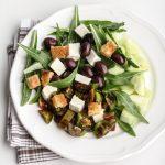 Vaniglia, storie di vacanze: insalata estiva di cocomero verde pugliese, olive primo sale e pomodori buoni