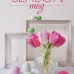 primavera, menù pasquali e riviste amiche…