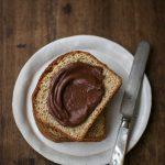 brioche parisienne integrale e crema di cioccolato e castagne
