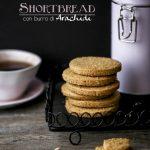 shortbread (vegani!!!) al burro di arachidi