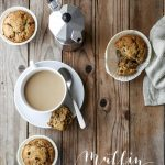 """Piccolo esperimento vegano (riuscito ;)): muffin integrali al cioccolato con """"uovo di lino"""""""