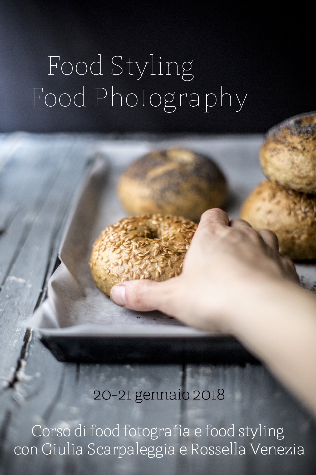 Workshop di food fotografia e food styling con Giulia Scarpaleggia e Rossella Venezia