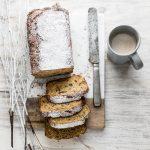 Plumcake con prugne secche e zucchero integrale