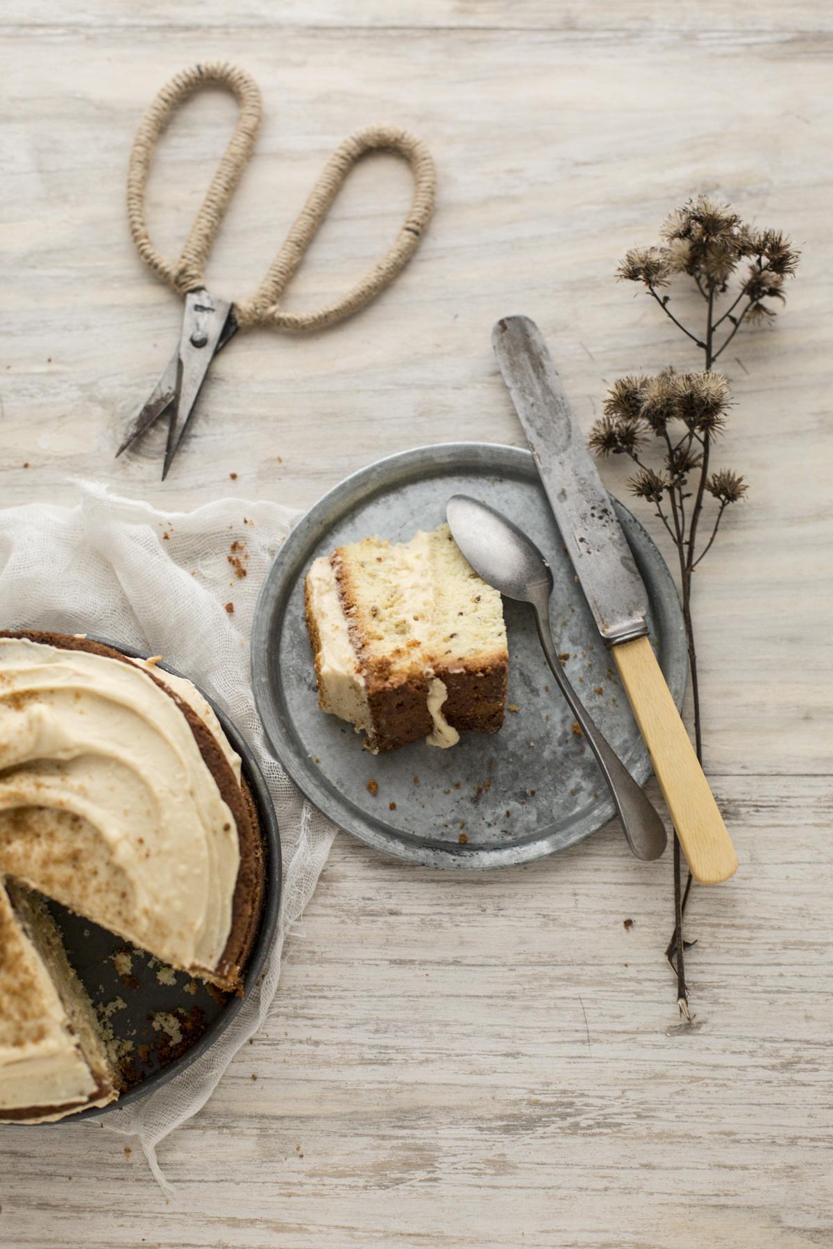 hygge: torta carvi e zucchero integrale Rossella Venezia