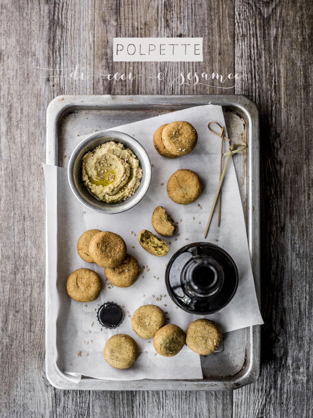 Polpette ceci e sesamo | Vaniglia Storie di Cucina
