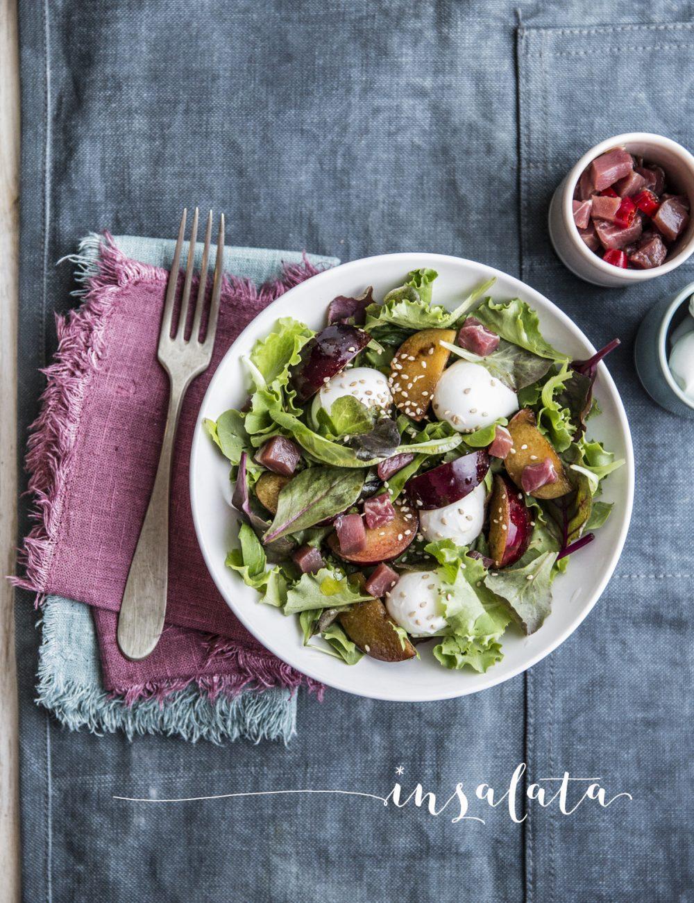 insalata susine