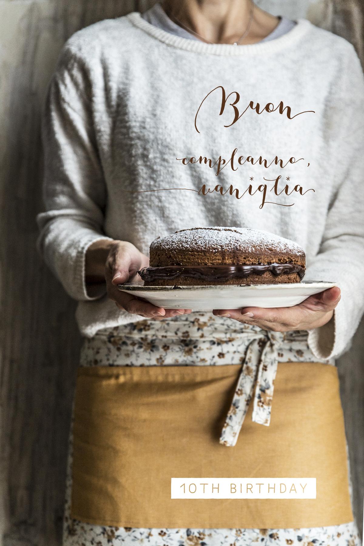 Torta grano saraceno e nocciole