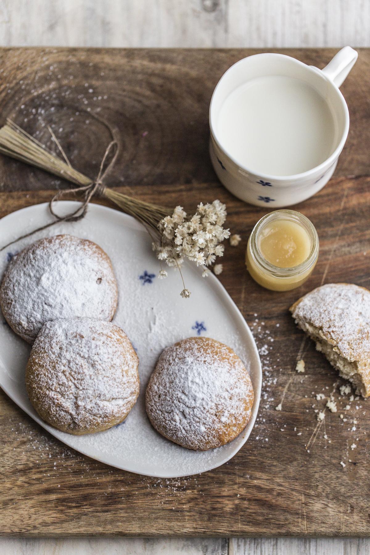 Pastarelle latte e miele Vaniglia Storie di Cucina