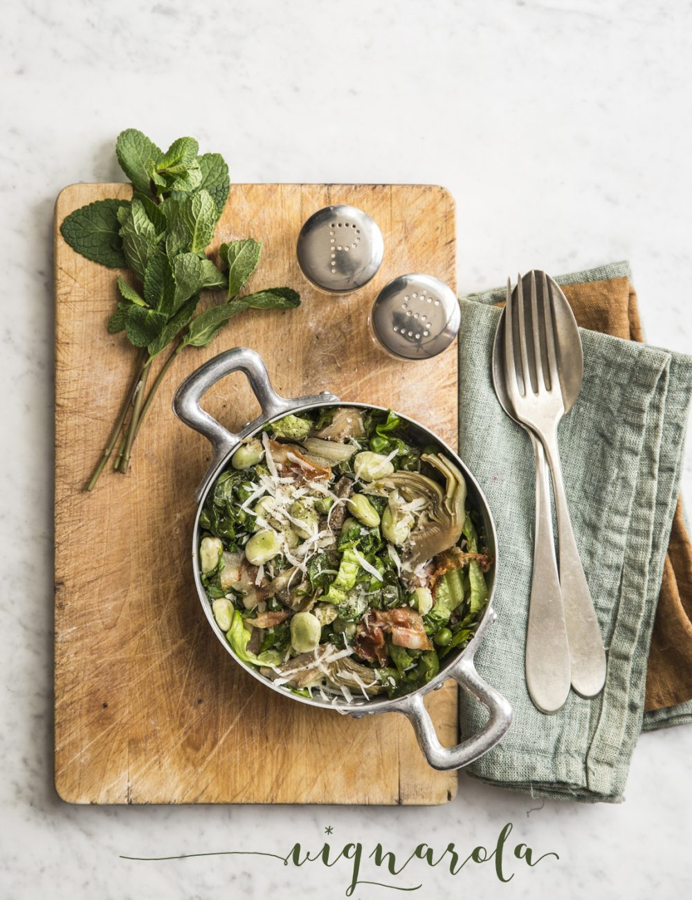 Vignarola - Vaniglia Storie di Cucina