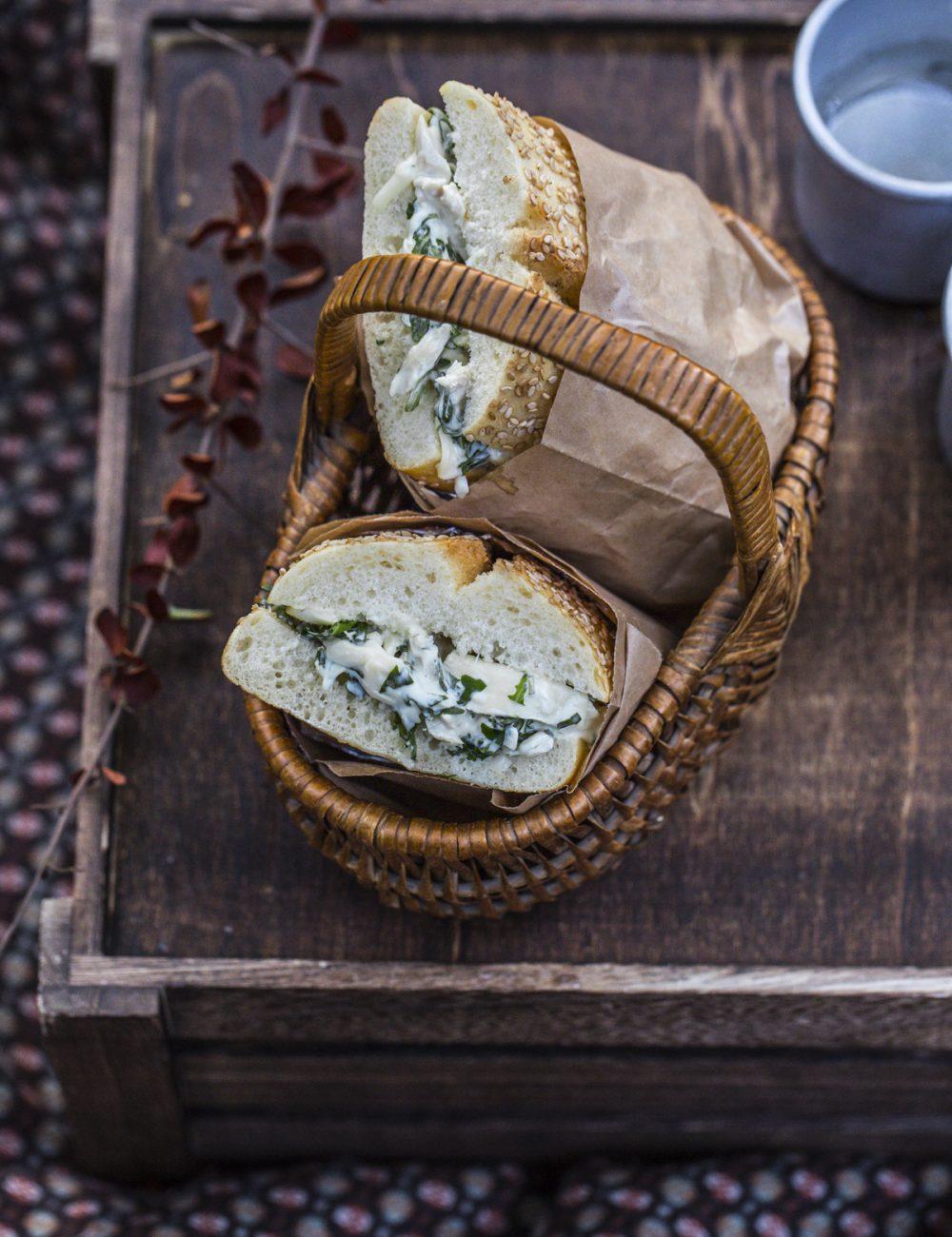 Into the wood | Vaniglia Storie di Cucina Panino di pollo e rucola