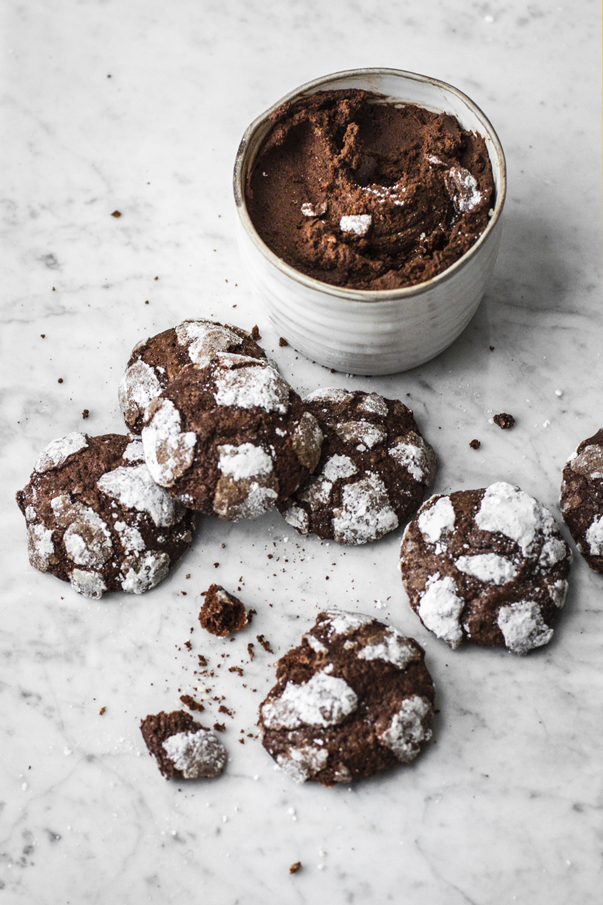 chocolate crinkles cream