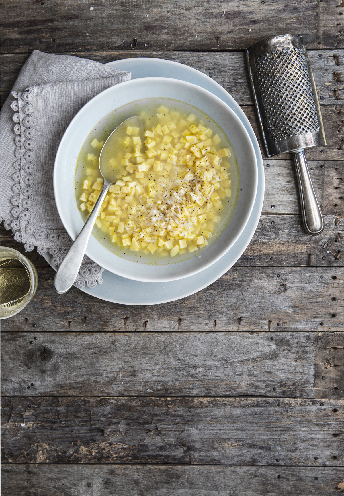 zuppa imperiale Rossella Venezia