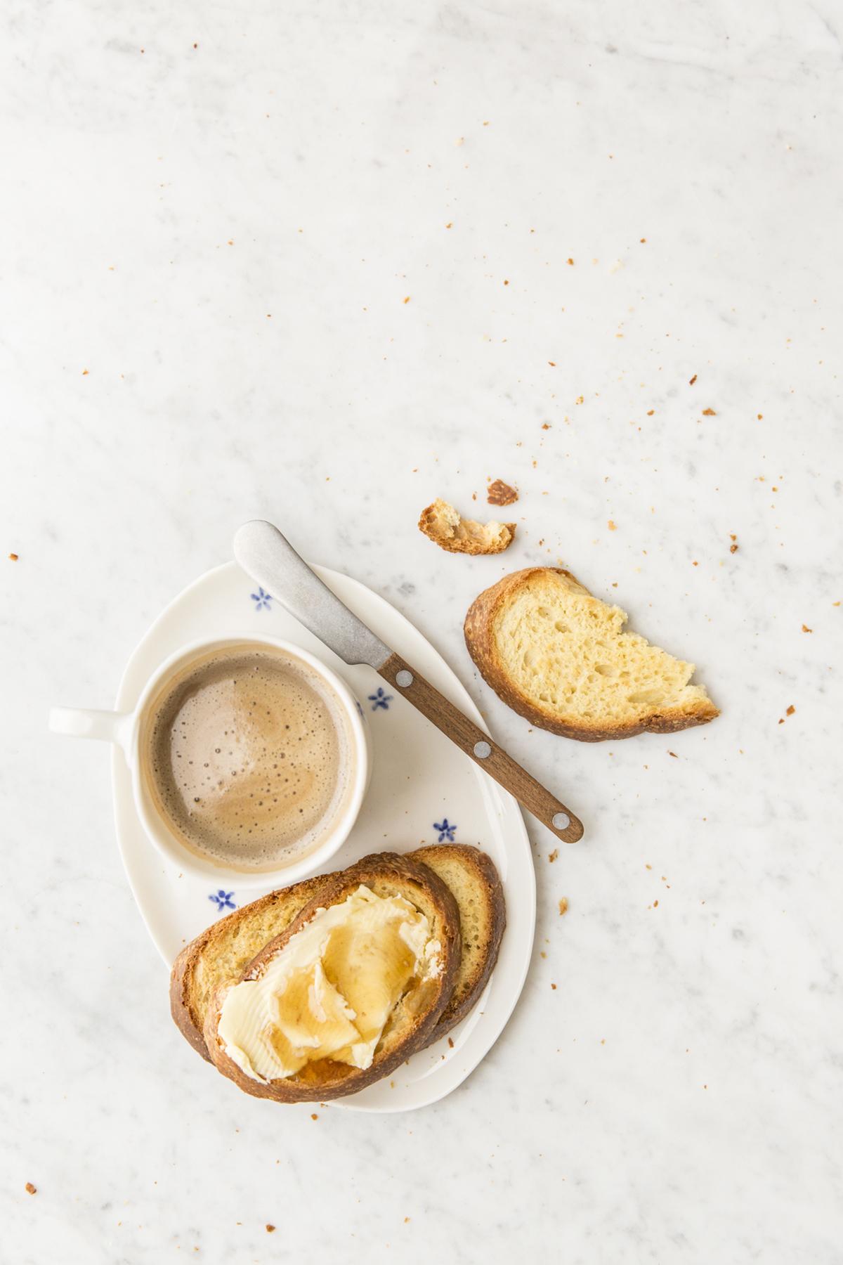 fette biscottate miele e anisetta