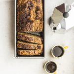 plumcake grezzo con farina integrale e cioccolato