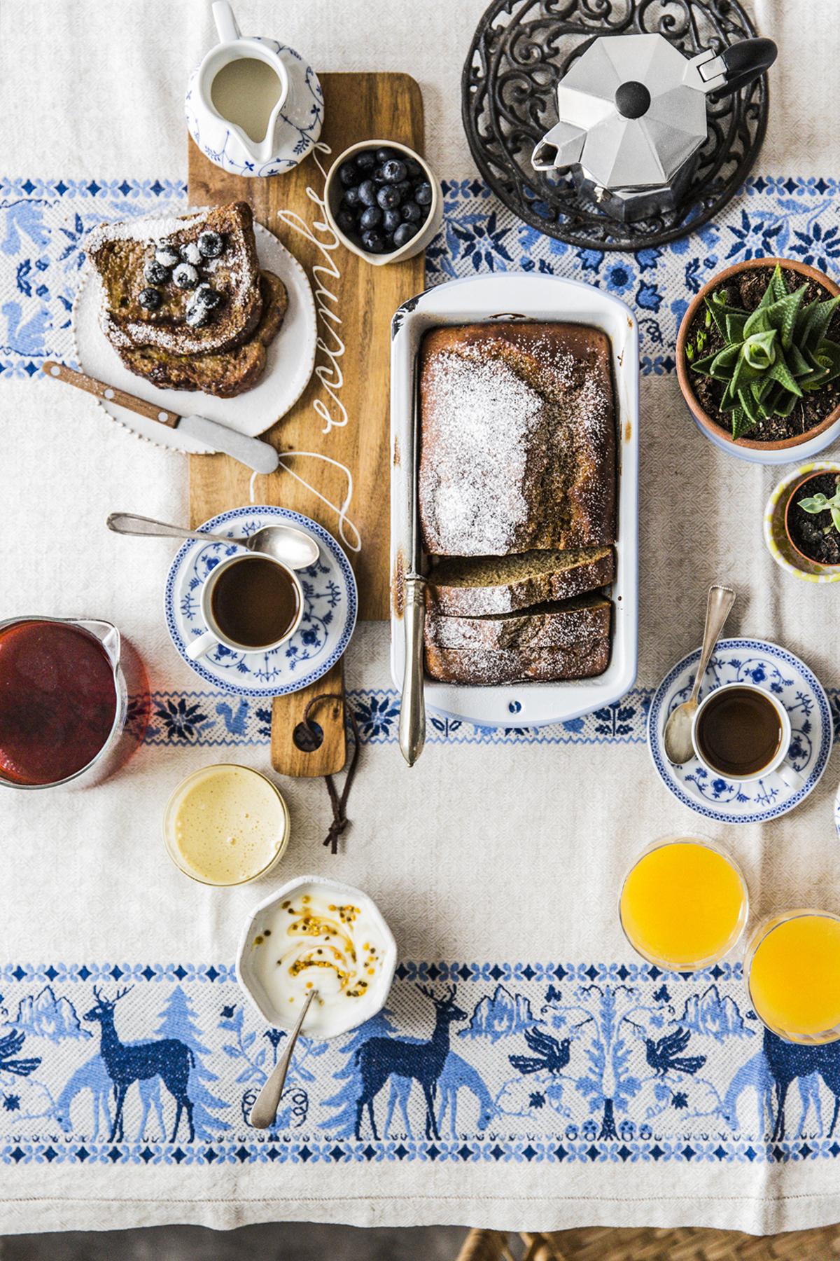colazione banana bread