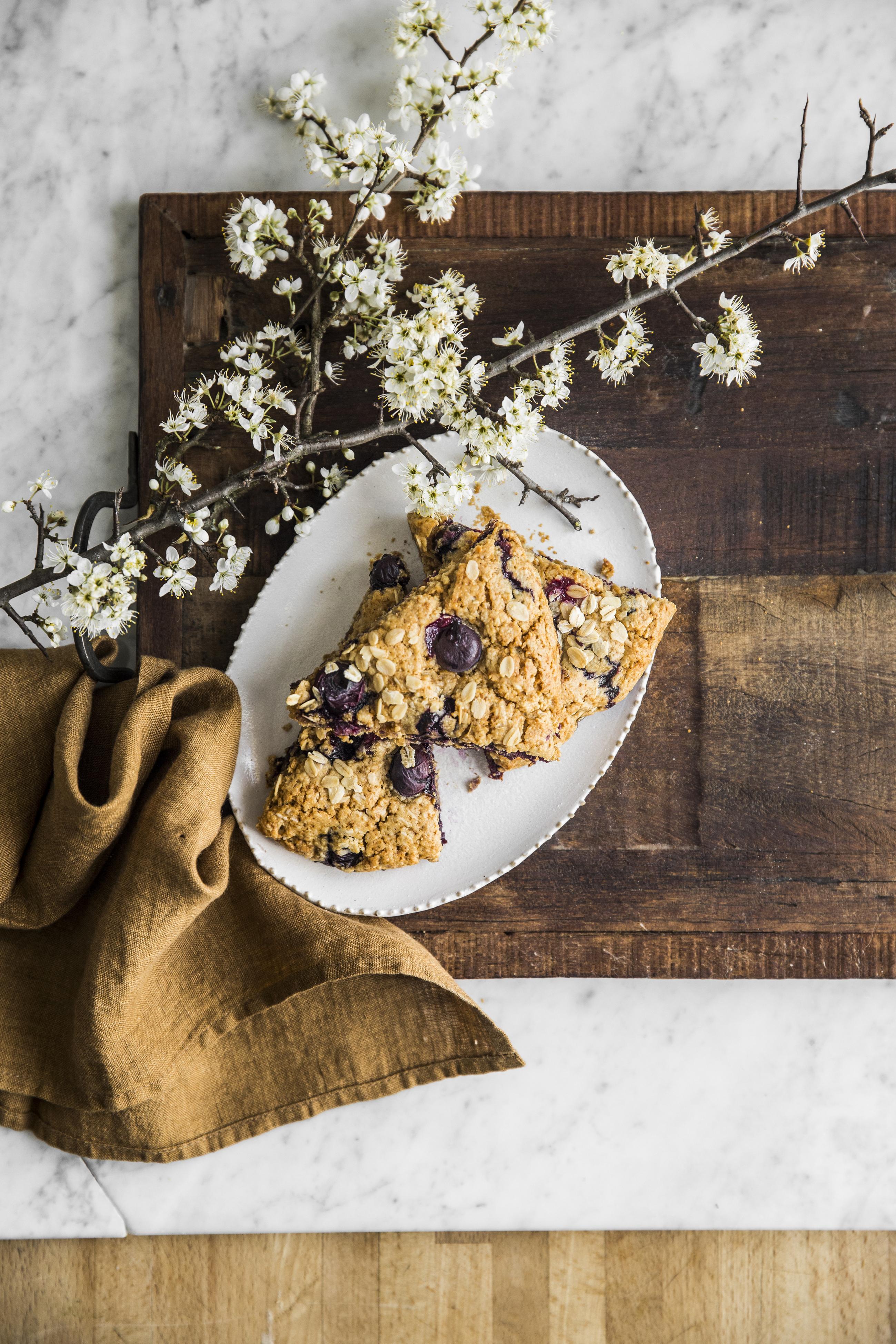 Scones farina di avena kefir