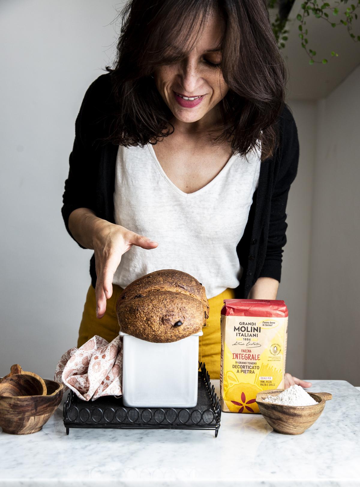 Rossella Venezia_Hokkaido Milk bread integrale
