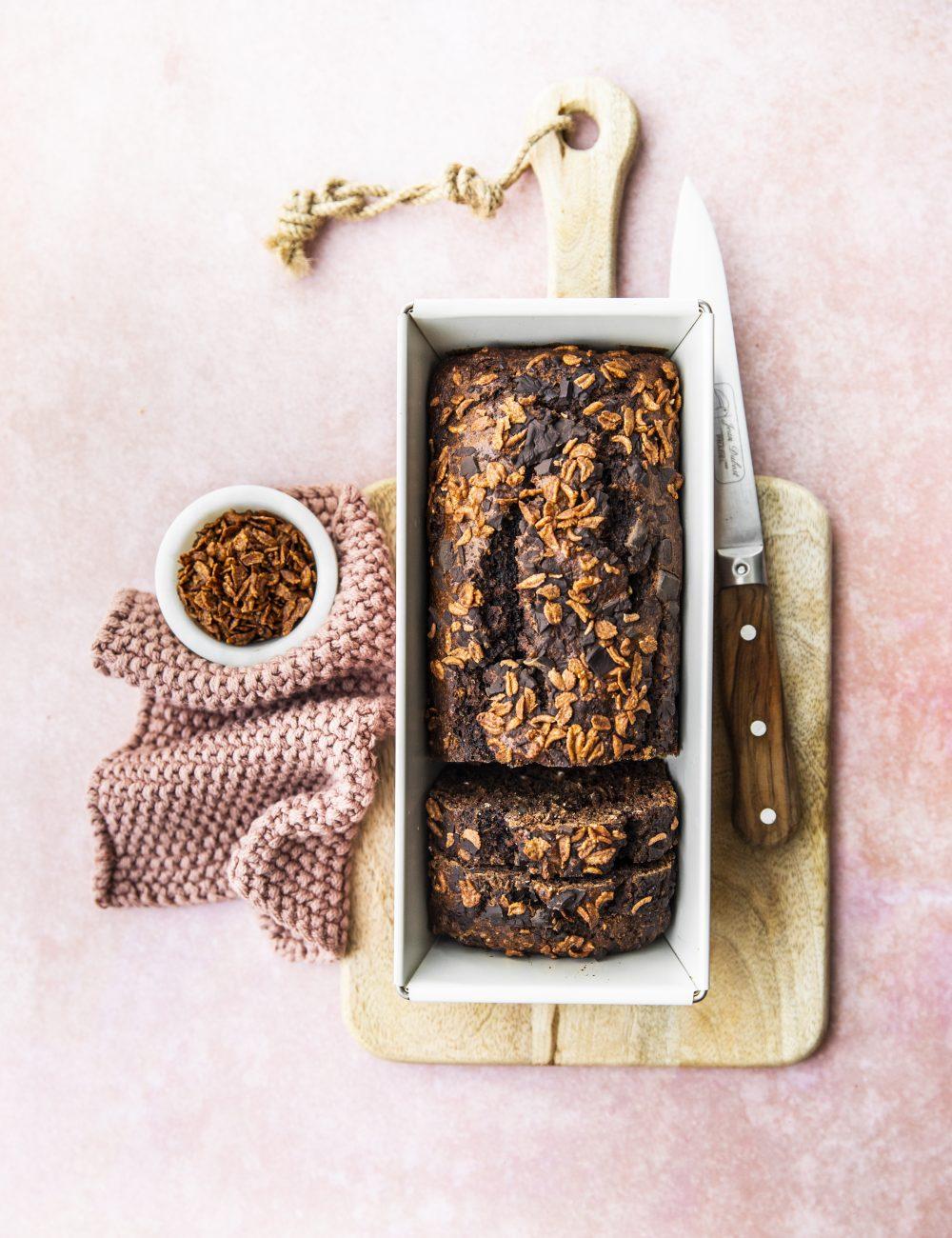 banana bread al triplo cioccolato